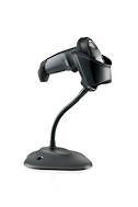 ZEBRA SCANNER KIT LI2208 USB BLACK WITH STAND